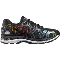 f607ada15aaf Asics Gel Nimbus 20 (férfi) futócipő (fekete) Tokyo felirattal